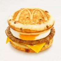 マックグリドルソーセージ&エッグ・チーズ