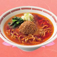 花山椒とラー油の担担麺