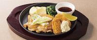 マテ茶鶏のオーブン焼き&牡蠣フライ