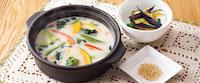 豆乳スープごはん~1日に必要な緑黄色野菜2/3使用(選べる小鉢つき)