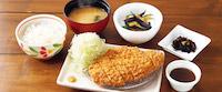 ハーブ三元豚のとんかつ膳~生ソース(選べる小鉢つき)