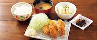 牡蠣フライ膳~広島産牡蠣使用(選べる小鉢つき)
