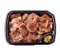 Wカットステーキ重(肉2倍)