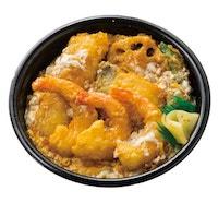 海鮮えび天とじ丼(えび3本)