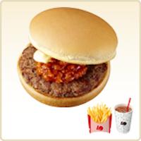 ロッテリアハンバーガー(うまみート)