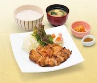 もろみ漬け鶏の炭火焼き定食