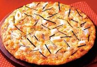 もち明太子ピザ
