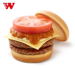 Wモスチーズバーガー