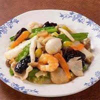 秋の海鮮八宝菜