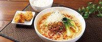 担々麺セット~鶏の唐揚げ2コ・ミニごはんつき