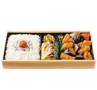 幕の内弁当(とり肉と野菜の土佐酢あんかけ)