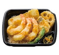 海鮮えび天丼(えび3本)