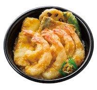 特海鮮えび天丼(えび6本)
