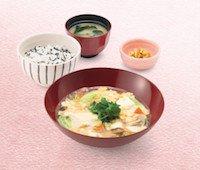 手造り豆腐のトロトロ煮定食