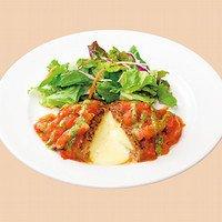 単品 トマトとバジルのイタリアンチーズINハンバーグ