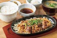和風おろし焼肉定食