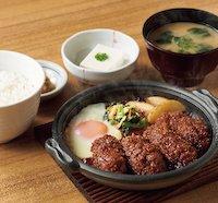 かきフライの味噌煮定食