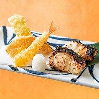 【単品】銀ひらすの西京焼き&天ぷら
