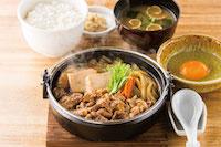 特牛すき焼き定食
