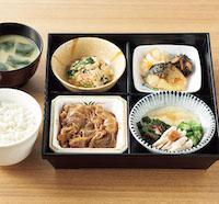 4種の和定食