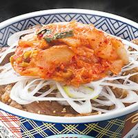 キムチカルビ丼