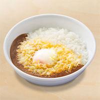 半熟玉子×チーズスパイシーカレー