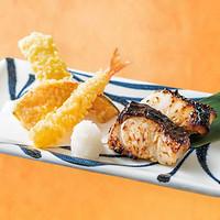 銀ひらすの西京焼き&天ぷら弁当